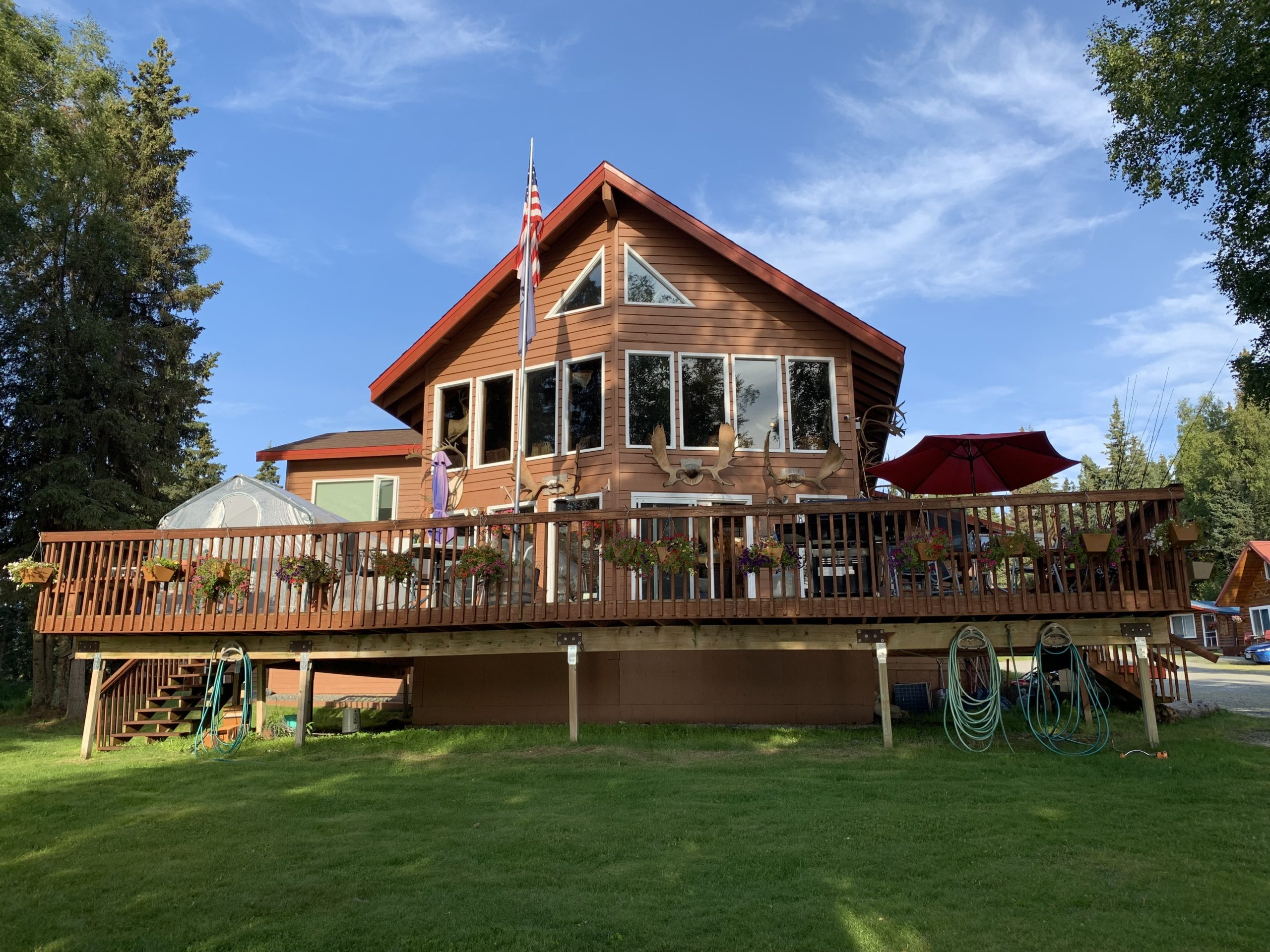 Big Sky fishcamp fishing lodge